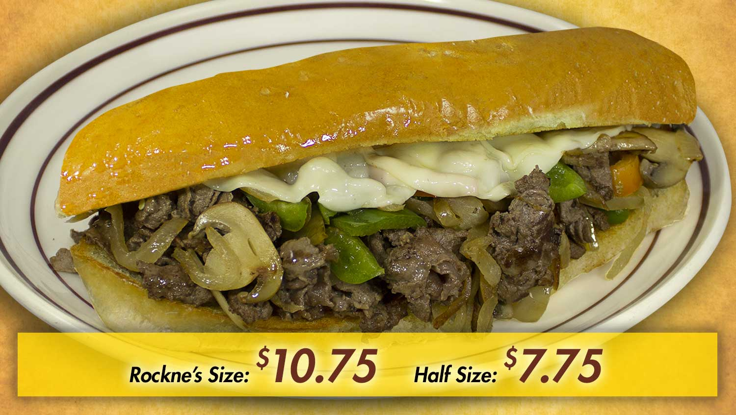 Rockne's Sandwich Menu Item