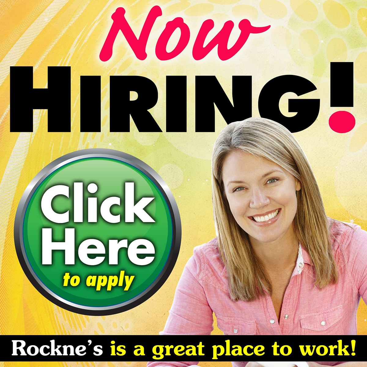 Now Hiring. Click to Apply Online Today.