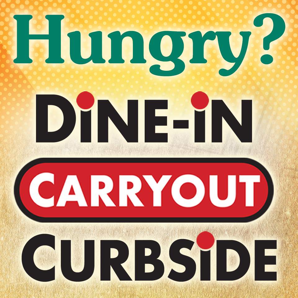 Dine-In, Carryout & Curbside at Rockne's Pub.