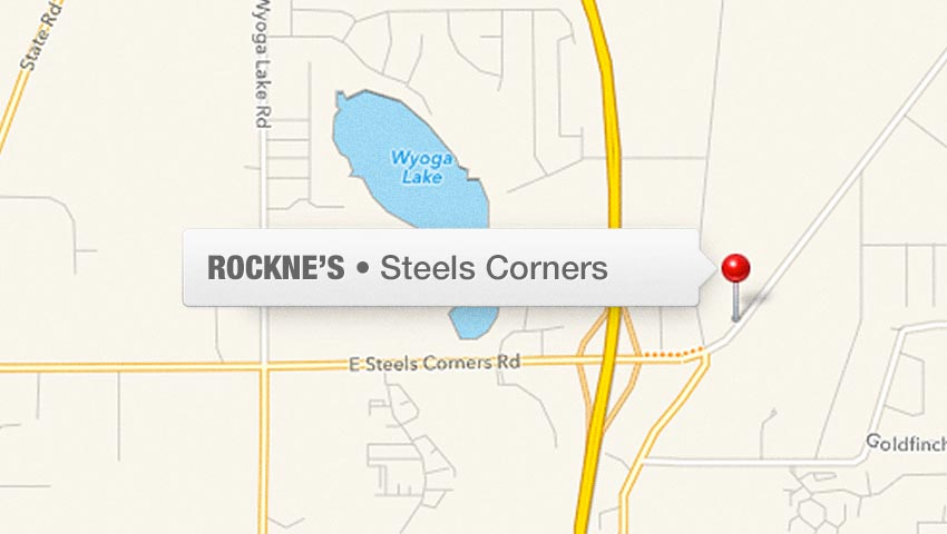 Stow, Ohio Area Rockne's Restaurant Location