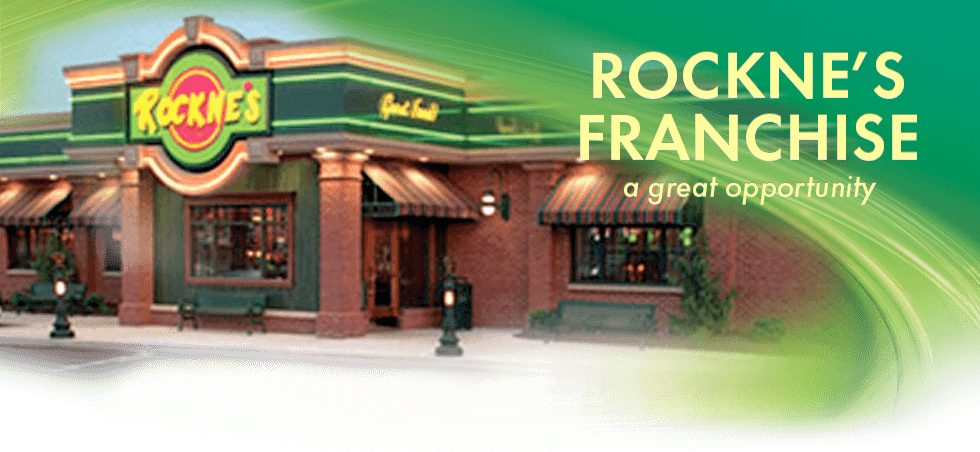 Franchising a Rockne's Casual Dining Restaurant is a Great Opportunity
