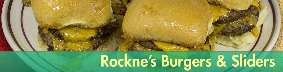 All Natural and Fresh Rockne's Burgers