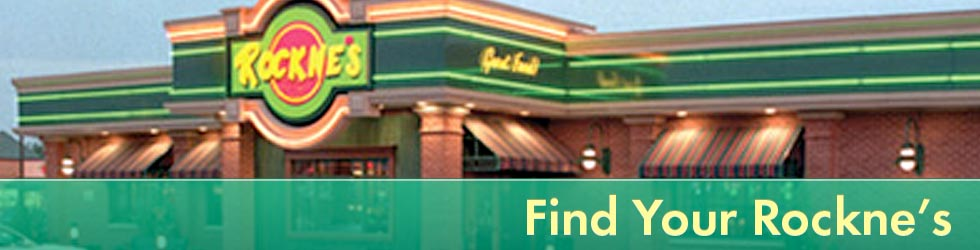 Find a Rockne's Restaurant Near You