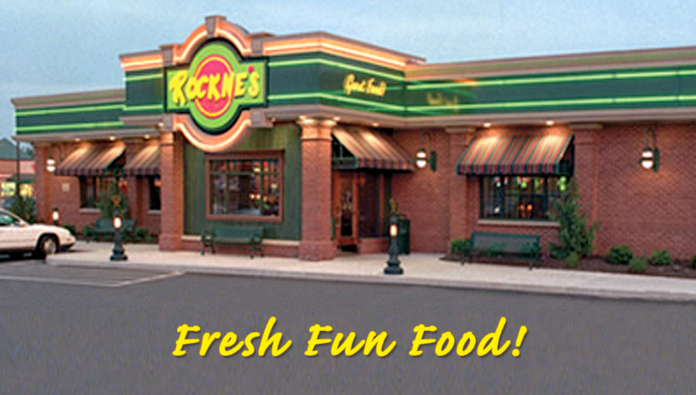 Find the Nearest Rockne's Restaurant to You